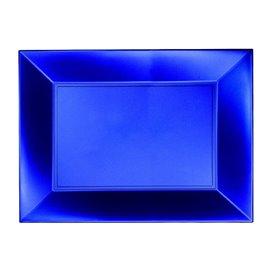 Bandeja Reutilizable PP Azul Nice Pearl 28x19cm (240 Uds)