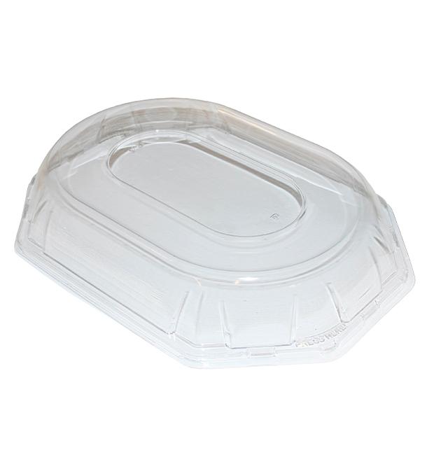 Tapa de Plástico PET para Bandeja de 36x24x5cm (5 Uds)