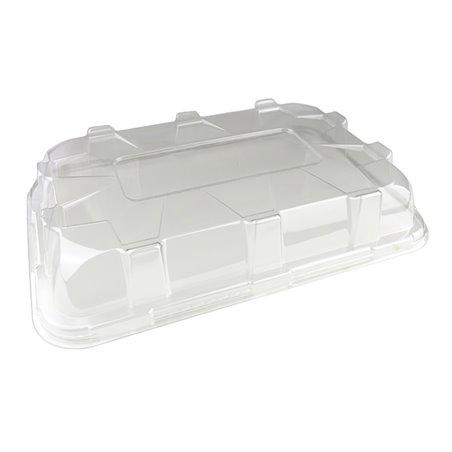 Tapa de Plástico PS para Bandeja de 55x37x8cm (5 Uds)