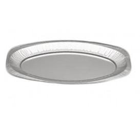 Bandeja Ovalada de Aluminio 1650ml (Caja 100 Uds)