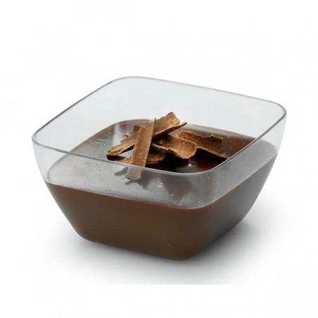 Bol de Plastico Degustacion Transparente 5x5x3 cm (200 Uds)