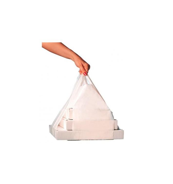 Bolsa Plastico Camiseta Cajas Pizza 50/26*60cm (1000 Uds)