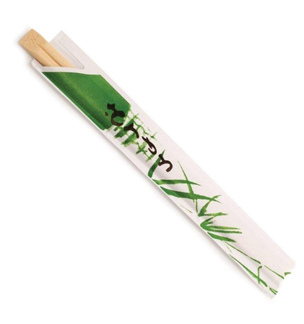 Palillo Chino de Bambú enfundado 200 mm (3000 Uds)