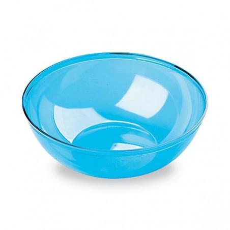 Bol de Plástico Turquesa 400ml 140Ø (60 Uds)