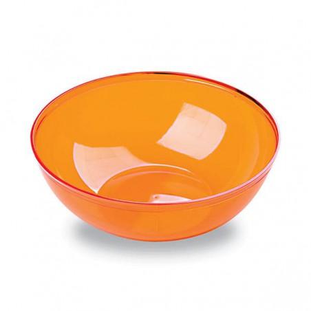 Bol de Plástico Naranja 400ml 140Ø (60 Uds)