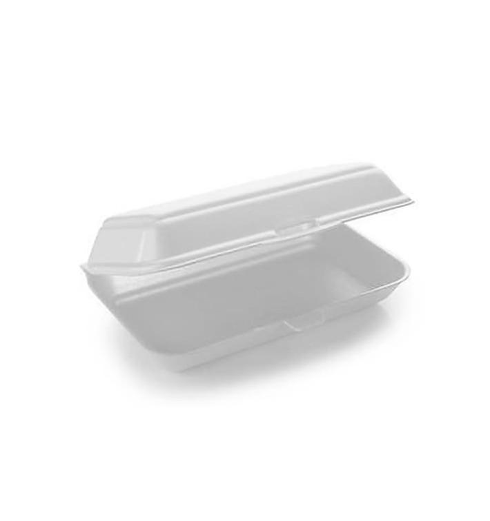 Envase Foam LunchBox Blanco 240x155x70mm (500 Uds)