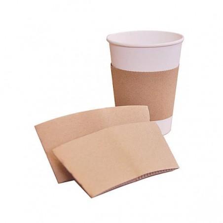 Funda para Vasos de Cartón Corrugada 24x8cm (2.000 Uds)
