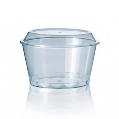 Tarrina para Helados 300 ml  Transparente PS (100 Uds)