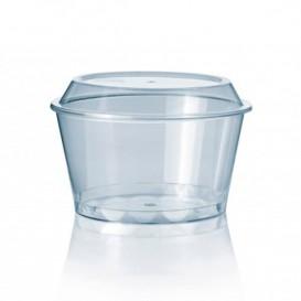 Tarrina para Helados 300 ml Transparente PS (900 Uds)
