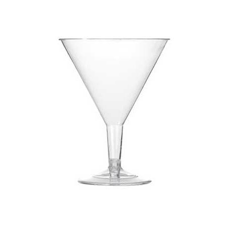 Copa de Plastico Transparente 215 ml (Caja 250 Uds)