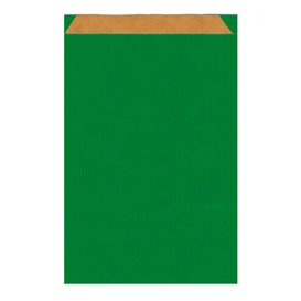Sobre de Papel Kraft Verde 19+8x35cm (750 Unidades)
