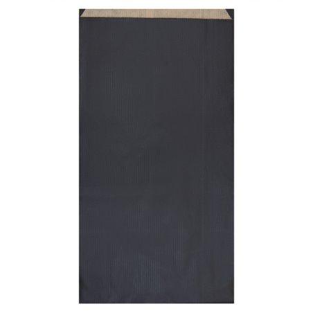 Sobre de Papel Kraft Negra 19+8x35cm (750 Unidades)