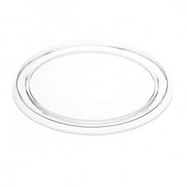 Tapa Plastico Flanera 127ml PVC (150 Uds)
