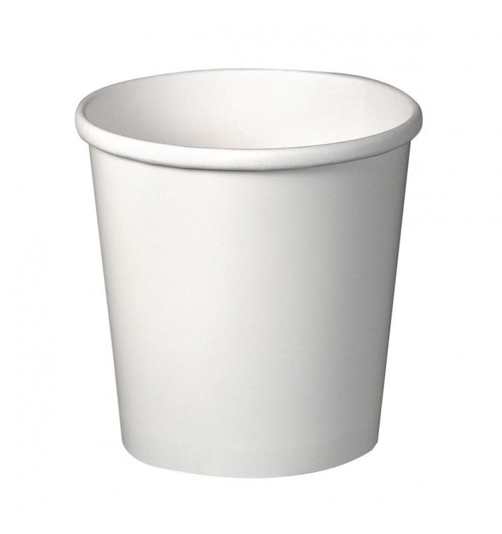 Tarrina de Cartón Blanco 16Oz/473ml Ø9,8cm (500 Uds)