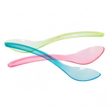 Cucharilla Plastico Enfundada para Helados 147 mm (100 Uds)