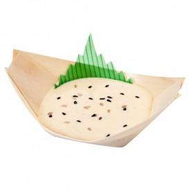 Bandeja de Bambu 110x70x20mm (100 Uds)