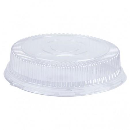 Tapa Cúpula de Plástico PS Cristal Ø11,5x4cm (125 Uds)
