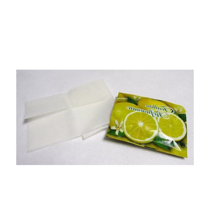 Toallitas Refrescantes Limón Estuches (500 Uds)