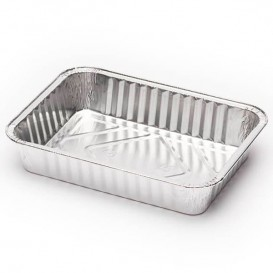 Bandeja de Aluminio 187x137mm 590ml (100 Uds)