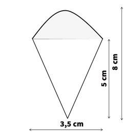 Cucurucho de Bambú 80mm (50 Uds)