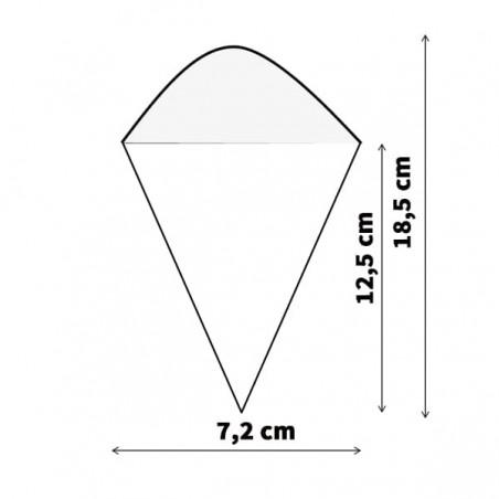 Cucurucho de Bambú 182mm (50 Uds)