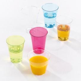 Vaso Inyectado Frambuesa 230 ml (150 Uds)