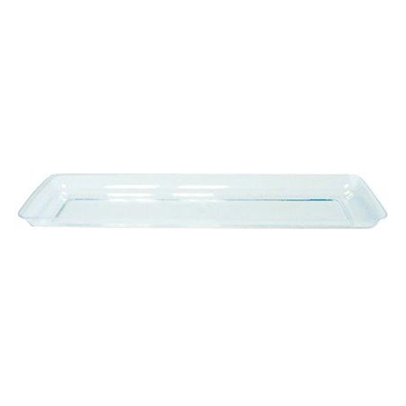 "Bandeja Plastico Degustacion ""Water Green"" 6,5x19 cm (50 Uds)"