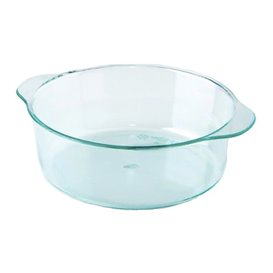 Tarrina de Plastico con Asas Verde Transp. 52ml (50 Uds)