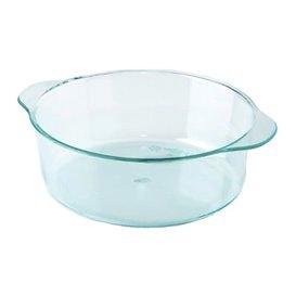 Tarrina de Plastico con Asas Verde Transp. 52ml (200 Uds)