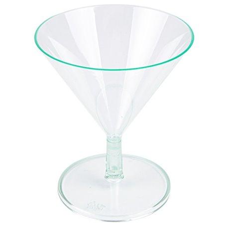 """Copa de Plastico """"Water Green"""" 65ml (12 Uds)"""