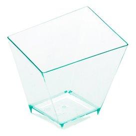 """Vaso Degustación Irregular """"Water Green"""" 5,6x5,6cm (12 Uds)"""