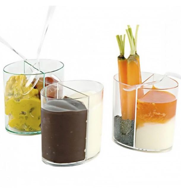Vaso de Plastico Doble Catering Degustacion Transp. 60ml (40 Uds)