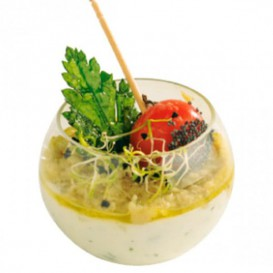 Bol Degustacion Esfera Pequeña Transp. 60 ml (5 Uds)