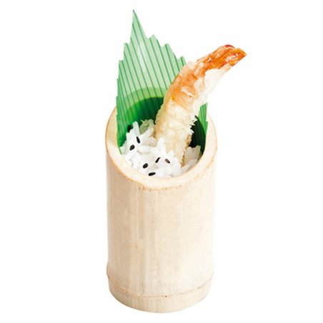 Vaso de Bambu Degustacion Truncado 5x9cm (10 Uds)