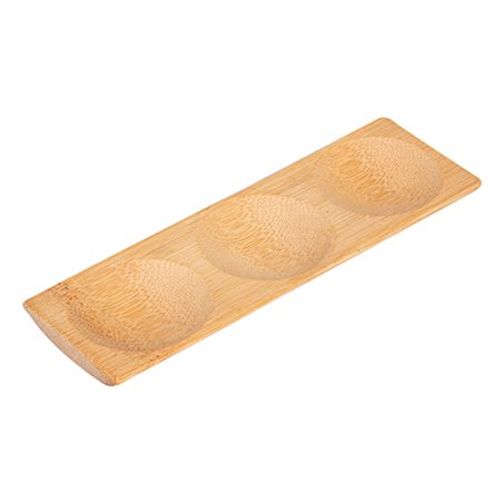 Bandeja de Bambu 18x5,5x1cm (12 Uds)