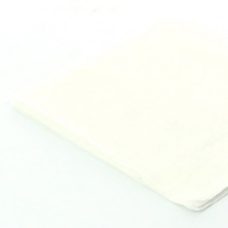 Servilleta de Papel Cocktail 20x20cm Blanca (3.000 Uds)