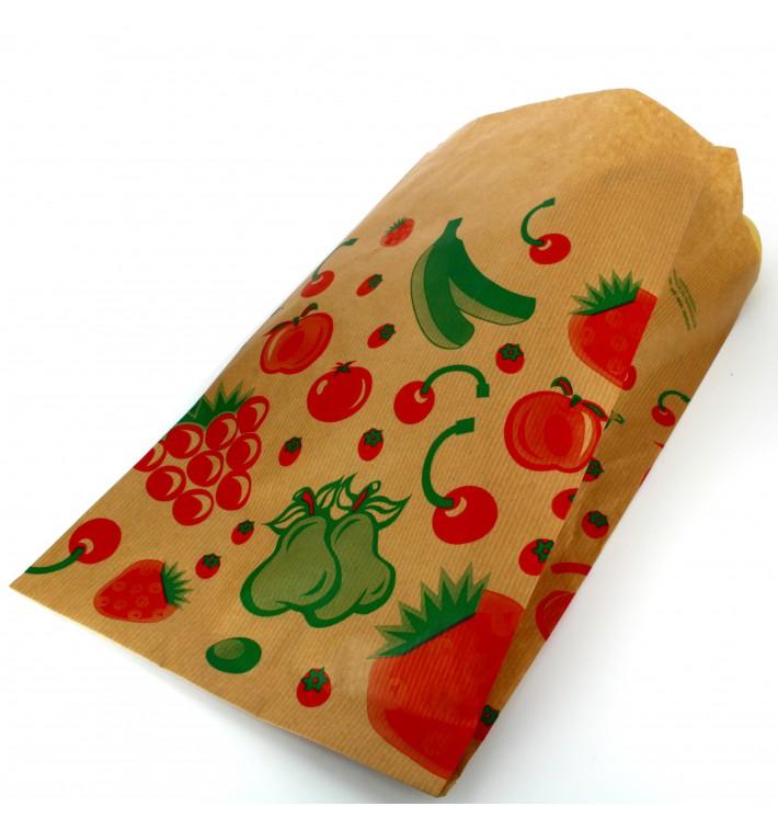 Bolsa Kraft para Fruta 18+10x32cm (1000 Uds)