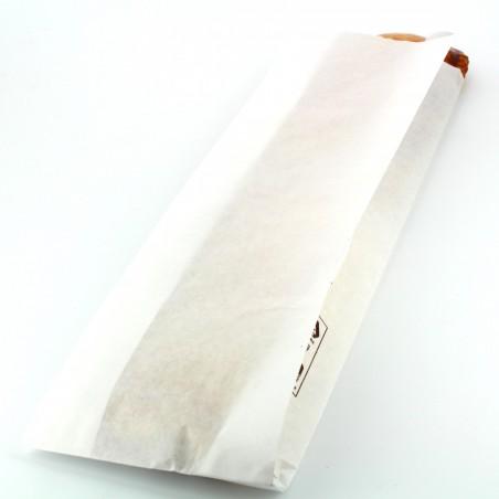 Bolsa de Papel blanca 9+5x32cm (250 Unidades)