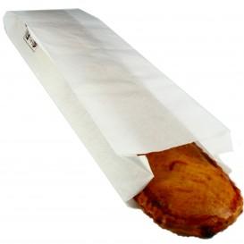 Bolsa de Papel blanca 9+5x32cm (1000 Unidades)