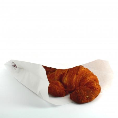 Bolsa de Papel blanca 14+7x24cm (250 Unidades)