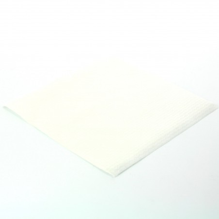 Servilleta de Papel Blanca 33x33 1 Capa Blanca (100 Uds)